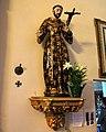 Mission San Carlos Borromeo de Carmelo (Carmel, CA) - basilica interior, Saint Francis of Assisi.jpg