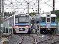 Model 7500 & 7000 of Hokuso Railway.jpg