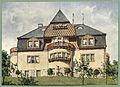 Moderne Villen in Meisteraquarellen Serie II Tafel 022 Villa.JPG