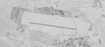 Warsaw-Modlin Mazovia Airport-Earlier usage-Modlin airbase photographed by the Discoverer 36 (Corona 9029) satellite (1961-12-12)