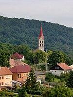 Modrý Kameň-Kékkő-view from Castle.JPG