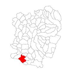 Vị trí của Moldova Noua