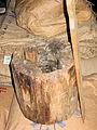 Molen de nieuwe molen Veenendaal steenbus hout met wig.jpg
