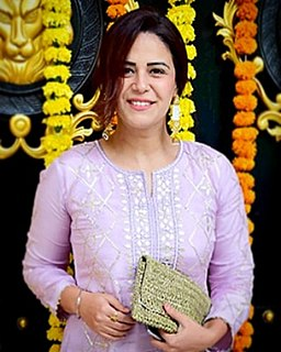 Mona Singh Indian actress and television presenter