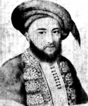 Iancu Văcărescu - Iancu Văcărescu (portrait by Henri de Mondonville)