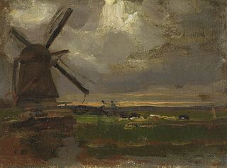 Windmill at the Gein