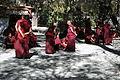 Monks debating, Sera monastery in Tibet, 2013.jpg
