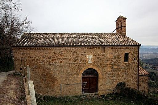 Santa Maria delle Grazie, outside Porta Burelli, Montalcino
