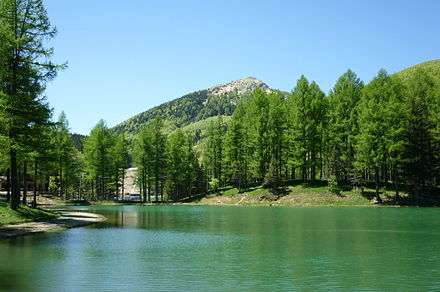 Monte Cimone (2165 m) is the highest mountain of the northern Apennines in the Emilia Romagna MonteCimone3.jpg