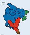 Montenegrin municipalities predominant language (2011).jpg