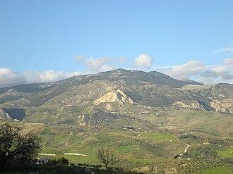 Province of Agrigento - Monte delle Rose (IT), Mountain of Roses (EN), Muntagna de Rosi  (Sicilian),  Mali i Trëndafilët (Arbëreshe)
