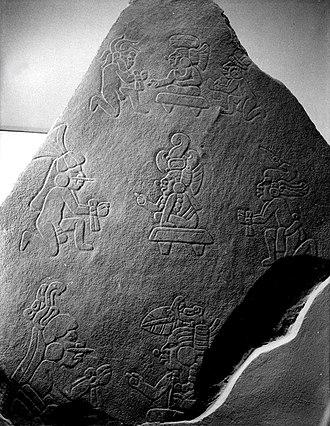 Kaminaljuyu - Kaminaljuyu Monument 65, 290 by 200 by 33 cm