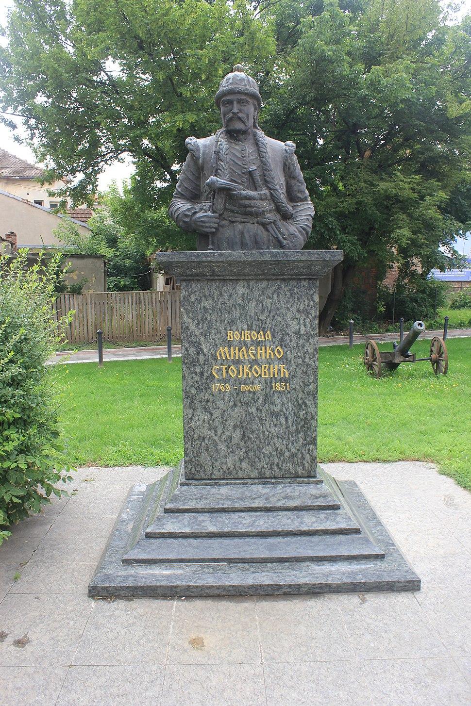 Monument to Milenko Stojković