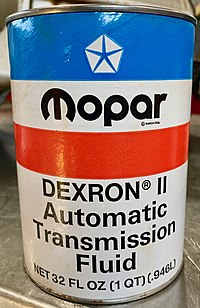 Mopar Automatic Transmission Fluid - Wikipedia