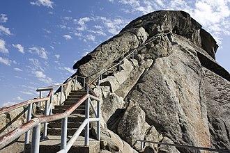Moro Rock - Image: Moro Rock steps 9Sept 2008