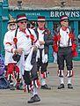 Morris dancers, York (26569140112).jpg