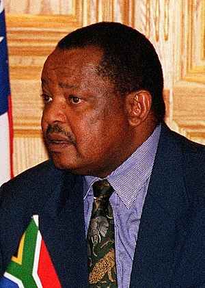 Congress of the People (South African political party) - Mosiuoa Lekota