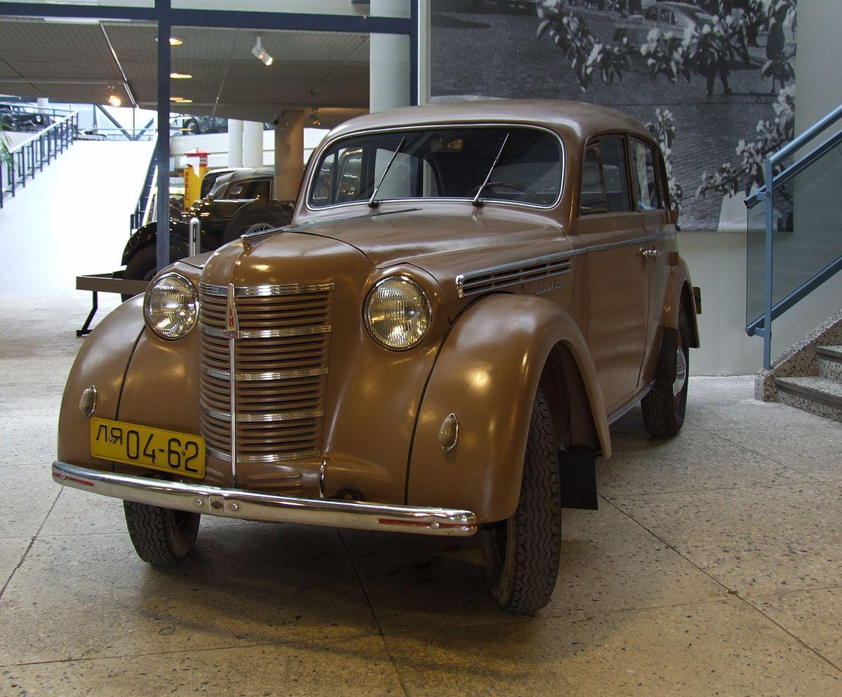 Москвич-400 — Википедия