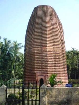 Faridpur District - Mathurapur Deul in Madhukhali Upazila