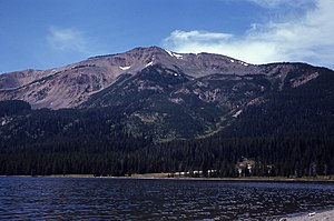 Mount Sheridan - Mount Sheridan from Heart Lake