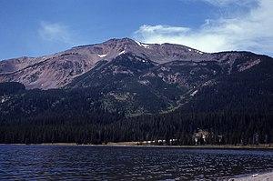 Heart Lake (Wyoming) - Image: Mount Sheridan From Heart Lake