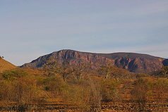 Mt. John Roberts in den Gammon Ranges