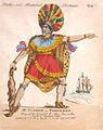 Mr Fisher as Tereeboo (Kalaniopuu), King of the Island of Owhyhee, in the Death of Captain Cook.jpg