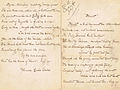 "Ms. of ""Blessèd"" by Florence Earle Coates, original signed handwritten poem.jpg"