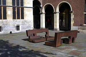 Eduardo Chillida - Image: Muenster;Rathaus Toleranzd Dialog 9425
