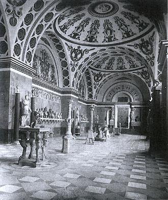 Glyptothek - Glyptothek, interior 1900
