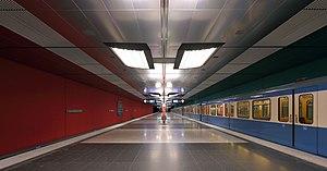 Wettersteinplatz (Munich U-Bahn) - Wettersteinplatz U-Bahn station
