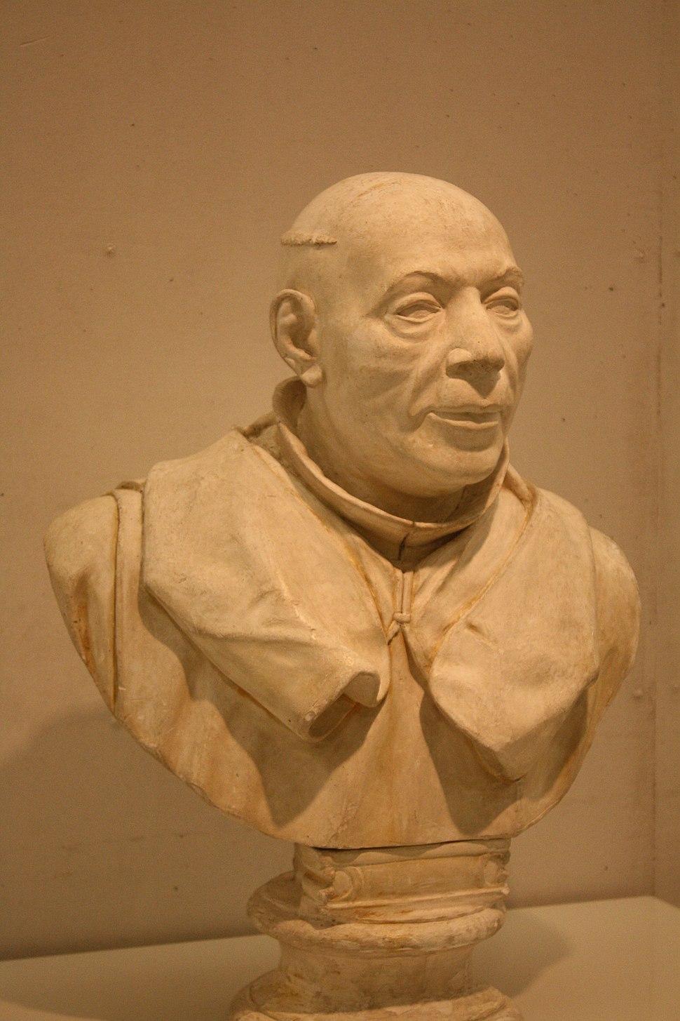 Busto (escaiola de Felipe de Castro, 1774). Museo de Pontevedra.