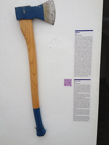 File:Museum of Broken Relationships - Ex-axe.jpg