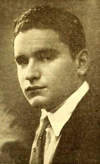 Myron Selznick - Selznick in 1919