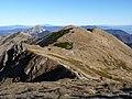 Národní park Malá Fatra, hřebenová trasa na Poludňový grúň.JPG
