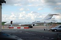 N560U - GL5T - Kyrgyz International Airlines