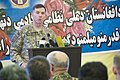 NATO Training Mission - Afghanistan commander speaks at Afghan Defense University cornerstone laying ceremony (4496253249).jpg