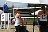 NCAA beach volleyball match at Stanford in 2017 (32466925843).jpg