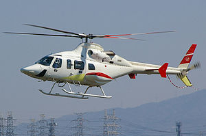 2009 Andhra Pradesh Chief Minister helicopter crash - A Bell 430 similar to the helicopter involved in  the accident
