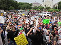NOLA BP Oil Flood Protest crowd Deja Vu.JPG