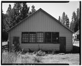 NORTH WALL, Looking Southwest - Ochoco Ranger Station, Vehicular Storage Structure, Prineville, Crook County, OR HABS ORE,7-PRINV.V,1B-5.tif