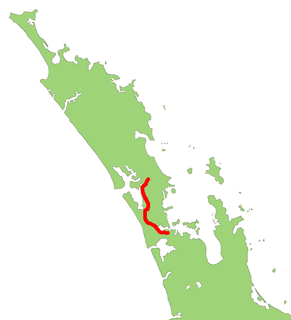 New Zealand State Highway 16 road in New Zealand