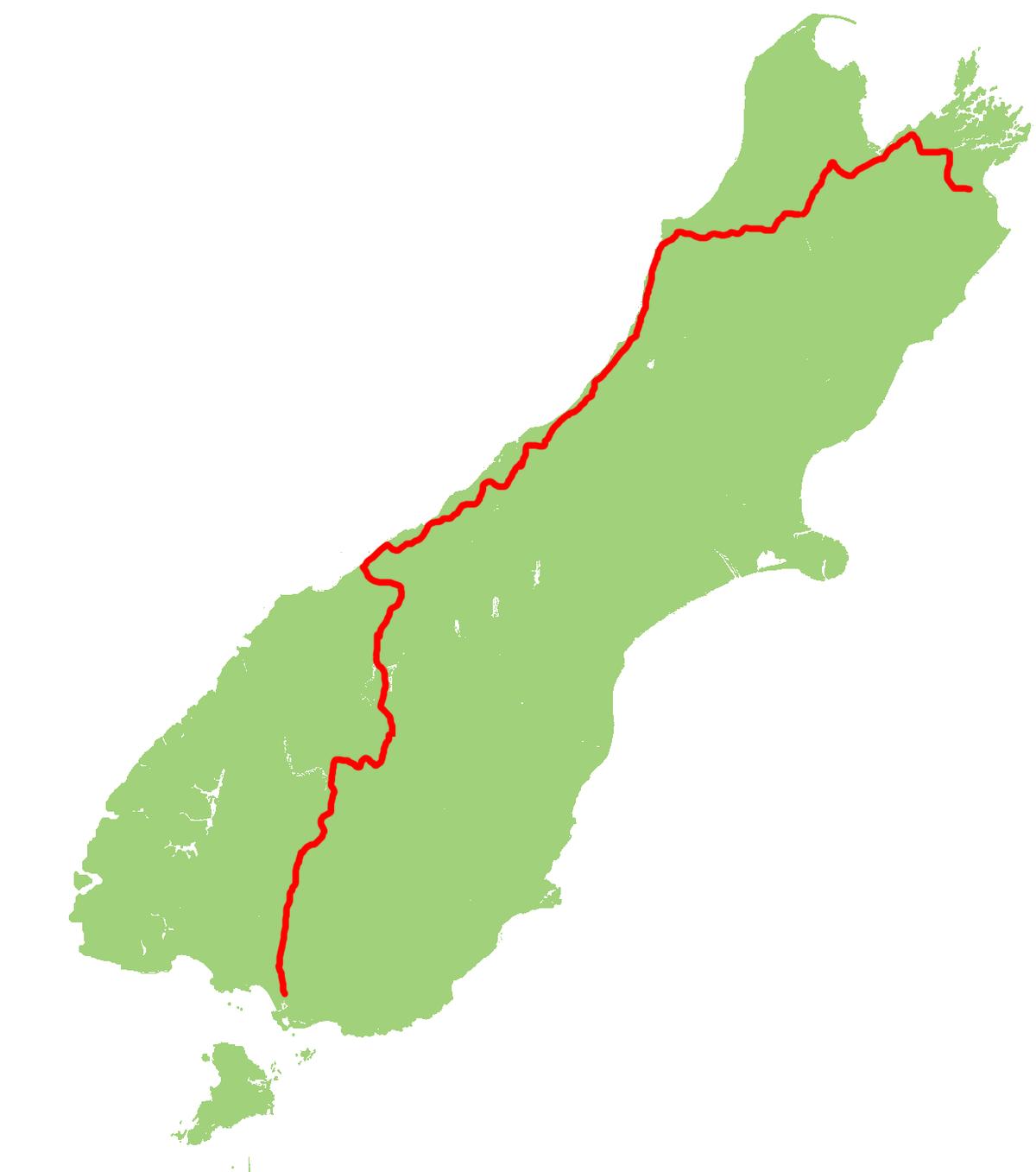 Map Of Cromwell New Zealand.New Zealand State Highway 6 Wikipedia