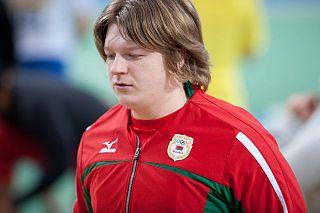 Nadzeya Ostapchuk Belarusian shot putter