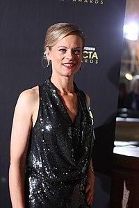 Nadine Garner at the AACTA Awards in Sydney, Australia (6796007613).jpg