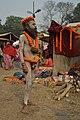 Naga Sadhu - Gangasagar Fair Transit Camp - Kolkata 2013-01-12 2779.JPG
