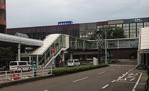 Nagaoka Station - Nagaoka Station in September 2015