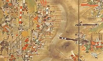 Shinshiro, Aichi - Battle of Nagashino in 1575