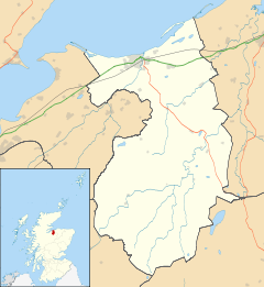Ardclach is located in Nairn