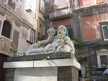 Nile God Statue, Naples